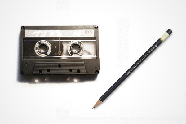 Do you remember having to fix tapes that had been eaten?