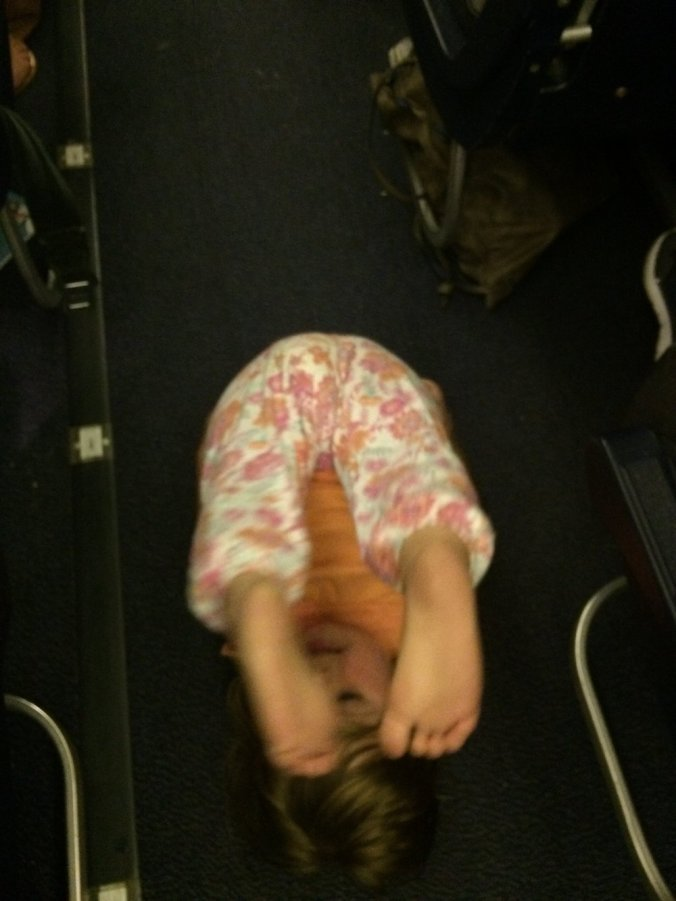 #3 If you are bored then try 'Centre Aisle Gymnastics'
